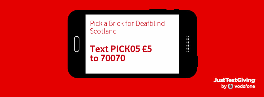 pick a brick deafblind scotland. Black Bedroom Furniture Sets. Home Design Ideas