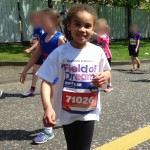 Leila running junior 1.5k